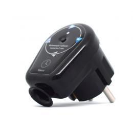 Терморегулятор з таймером у розетку  для рушникосушки чорний ERAFLYME 16TB